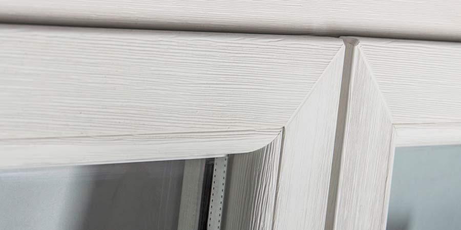 real wood window